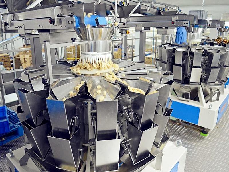 定量称重颗粒自动包装机